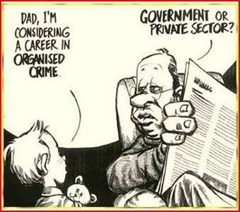 Career choice for future criminals. LOL