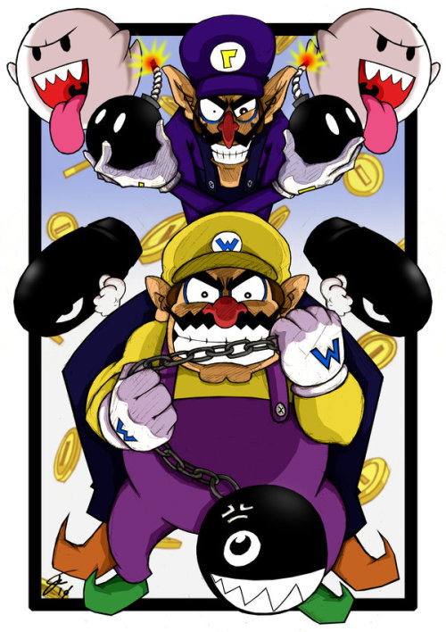 elyshatheriddell:  Super Wario Brothers by Jordan Sheady Blog | DeviantArt