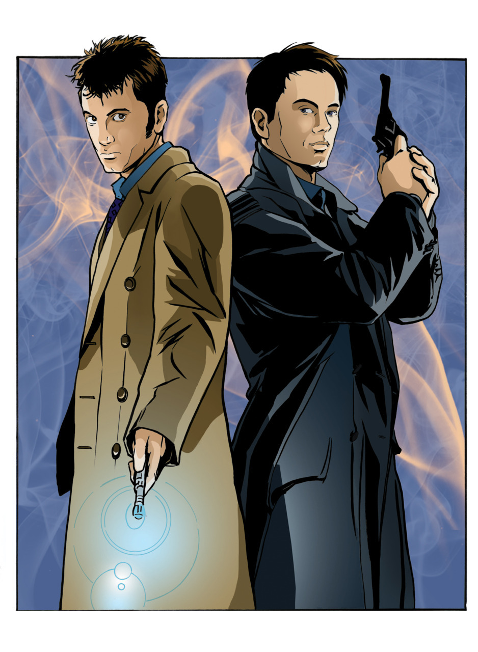 dinosaurmeat:  Some awesome Doctor Who fan art I helped work on!