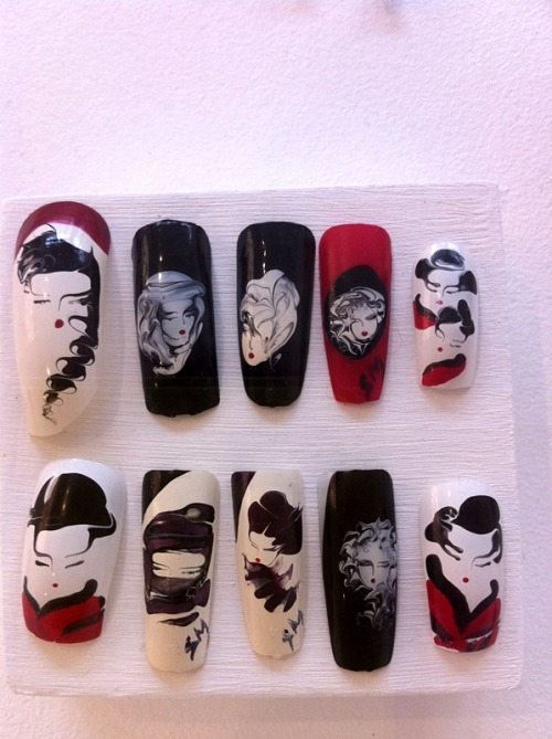 geisha nails