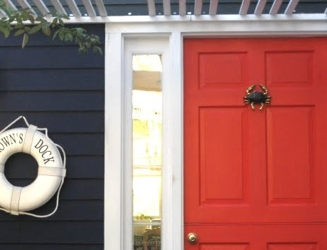 evastar:  crab door knocker.