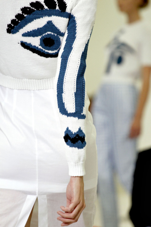I see you looking. [Jil Sander Spring/Summer 2012]