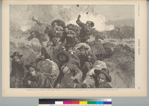 Massacre of the Chinese at Rock Springs, Wyoming