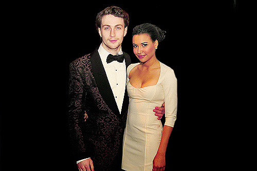 Crackship: Aaron Johnson & Naya Rivera (Requested by Anonymous)