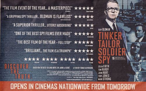 Tinker Tailor Soldier Spy promotional material - gallery added to the site.