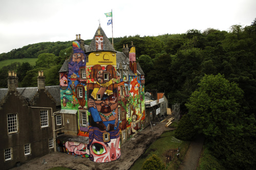 Save Kelburn Castle's Brazilian Mural
