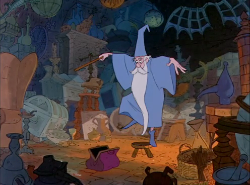 Merlin in Disney's The Sword in the Stone