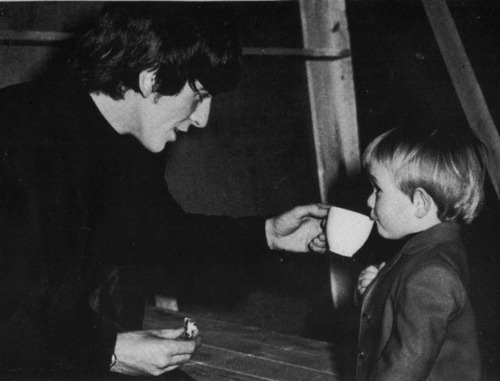 """Here son, coffee will make your day"""