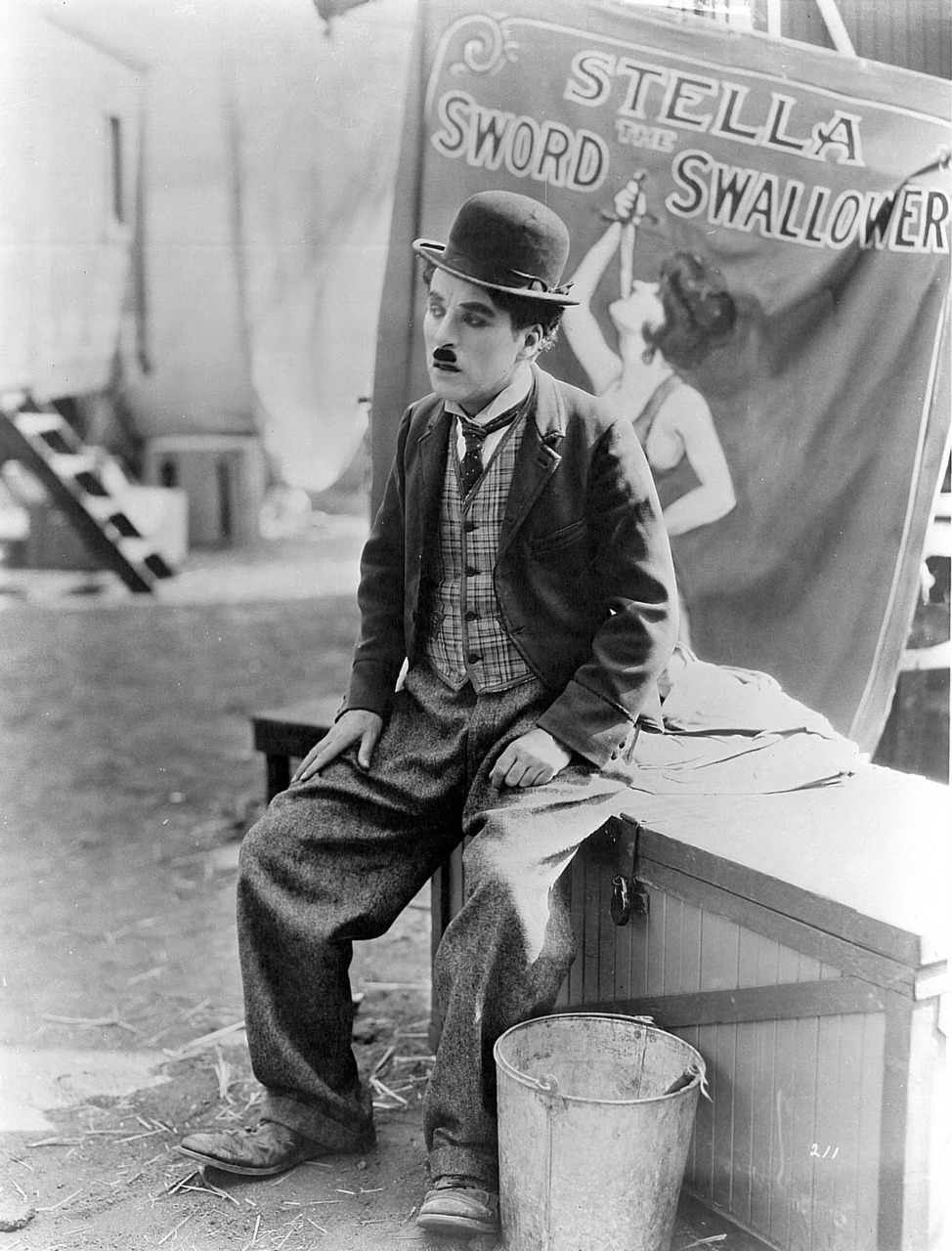 "chaplinfortheages:  Charlie Chaplin in ""THE CIRCUS"" - 1928"