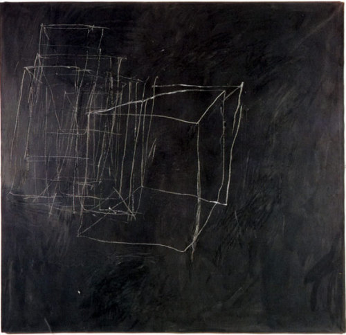 thealteredpage:  Cy Twombly Night Watch 1966