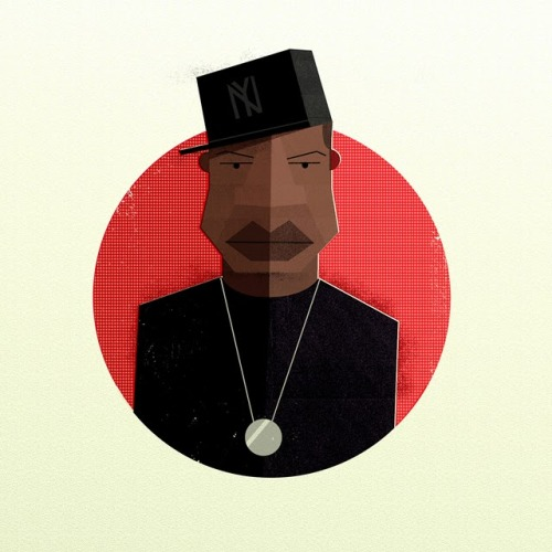 Hip Hop Illustrative Portraits by Dale Edwin Murray http://daleedwinmurray.blogspot.com/