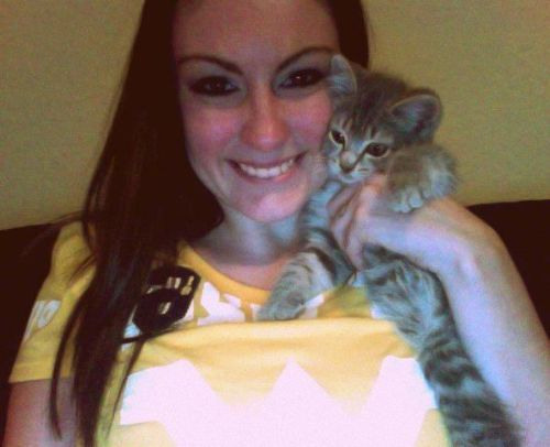Addy and I supporting our Mountaineers <3
