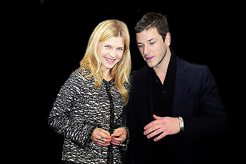 Crackship: Clemence Poesy & Gaspard Ulliel (Requested by hobbitsized)