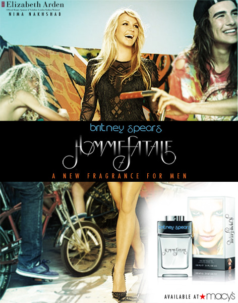 itsn33mzbitch:  Britney Spears - Homme Fatale - The New Fragrance for Men.   *SIGH* If only…