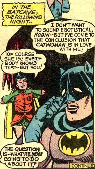 "turner-d-century:  retrogoddess:  Batman  He's not the ""World's Greatest Detective"" for nothing."