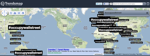 youranonnews:  And they say that the  #occupywallstreet hashtag isn't being blocked???