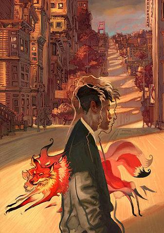 Jon Foster, is amazing, and for some reason his work reminds me a little bit of Arthur Rackam.