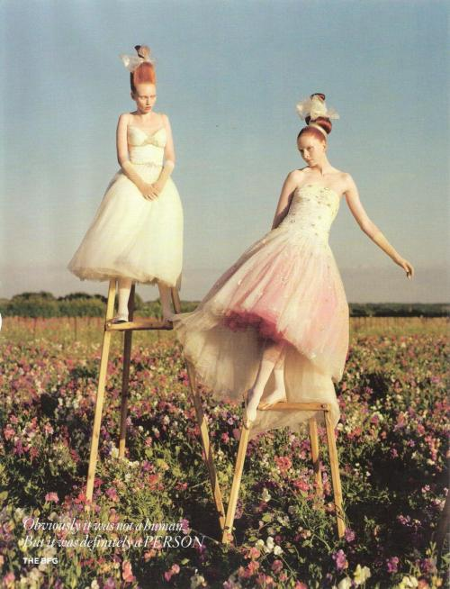 bohemea:  Tales Of the Unexpected - Vogue UK by Tim Walker, December 2008