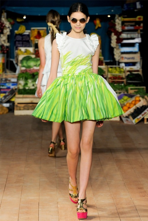 fashion-ocd:  Moschino Cheap & Chic Spring 2012