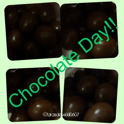 I LOVE CHOCOLATE~~!!! <3