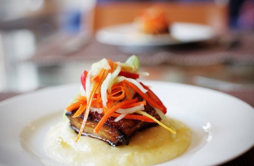 pork belly lunch by souladdikt on Flickr.