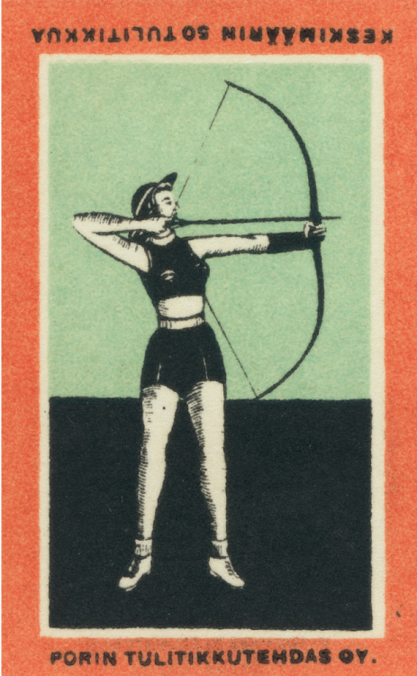 finnish matchbox label (by maraid)