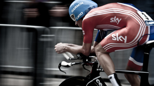 _MG_6329.jpg by Kristian Thøgersen on Flickr.David Millar mid-race at Worlds TT.