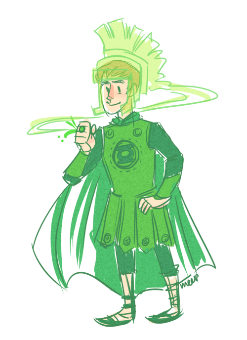 horticulturalcephalopod:  Oh and that other time /co/ wanted Rory as a Green Lantern. SOB ROMAN ARMOR IS SO GORGEOUS  Rory is pretty fine too.