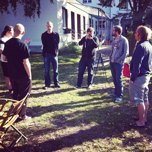 #scrum #campkbx guten morgen. (Taken with instagram)