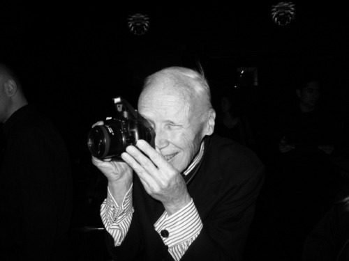 Photographer Bill Cunningham, New York.  Photo Rachel Chandler