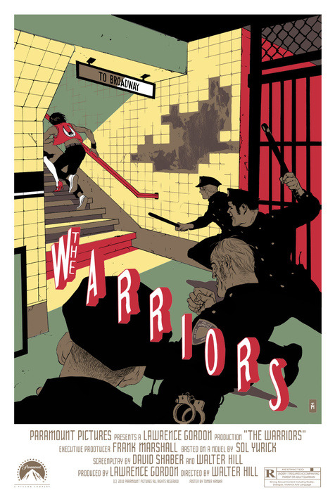 The Warriors by Tomer Hanuka
