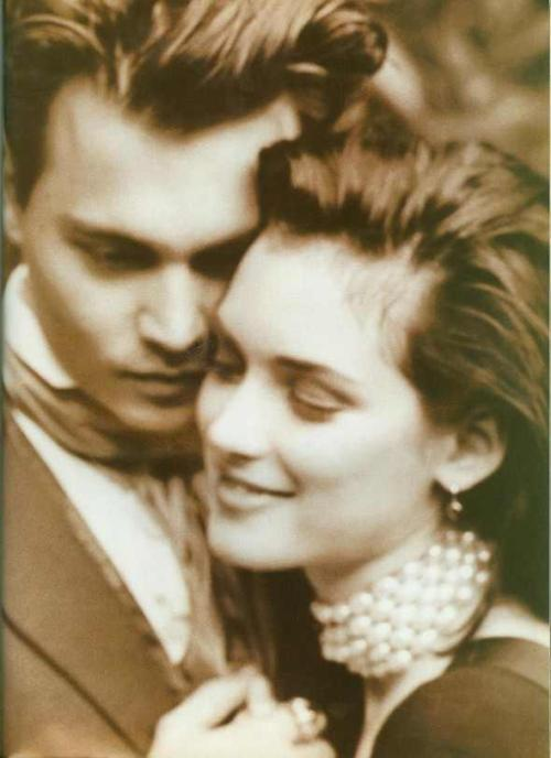 excellentlyeccentric:  Johnny and Winona