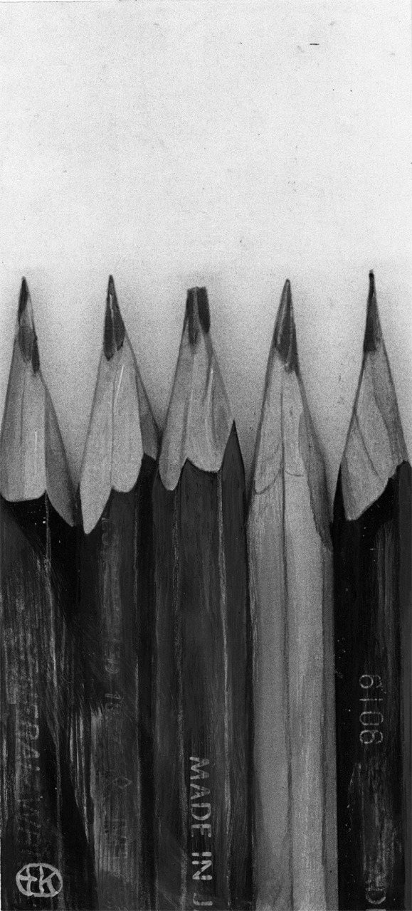 my dad used to sharpen my pencils like this when i was little