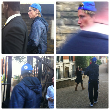ladykellykay:  Fernando Torres walked out stamford bridge yesterday 24/09/2011