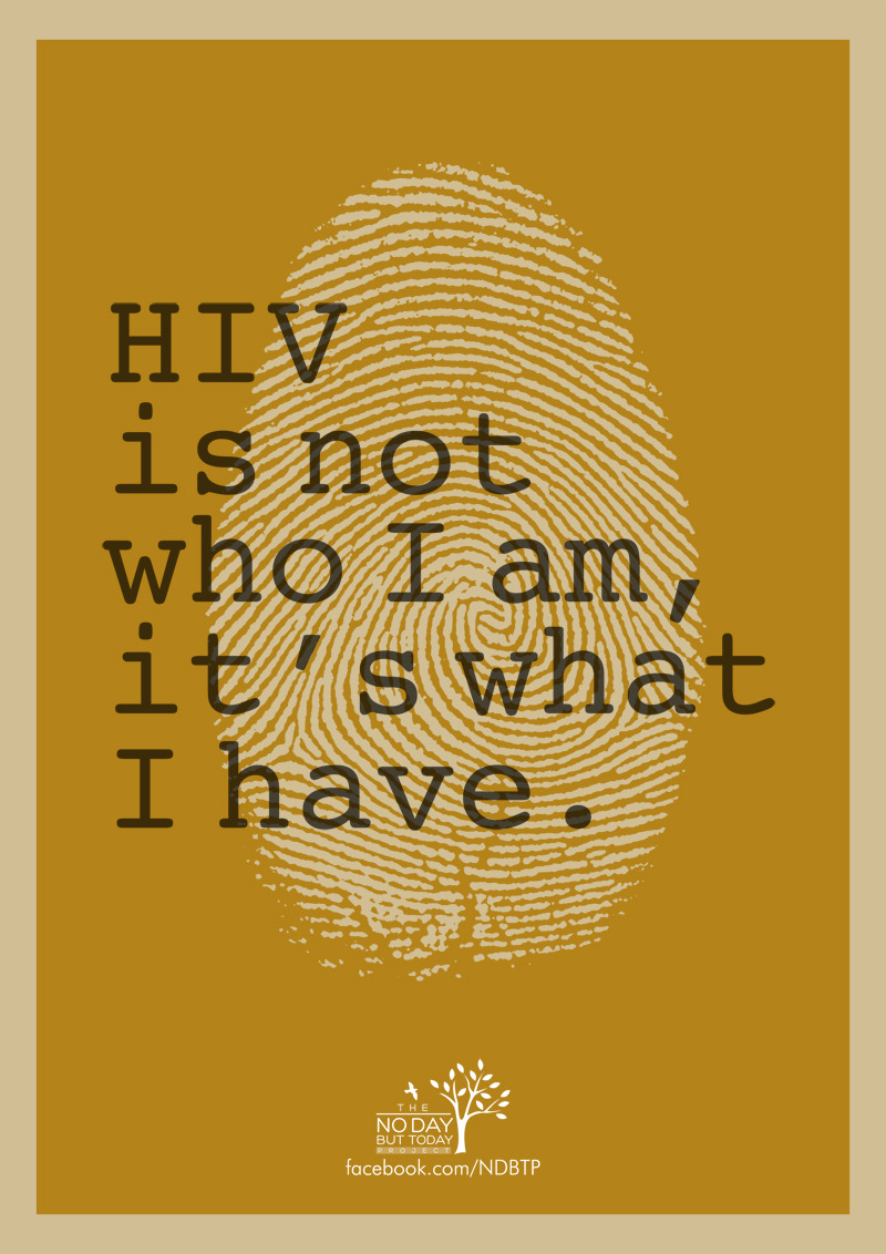 bepositive-ph:  HIV is not who I am, its what I have.
