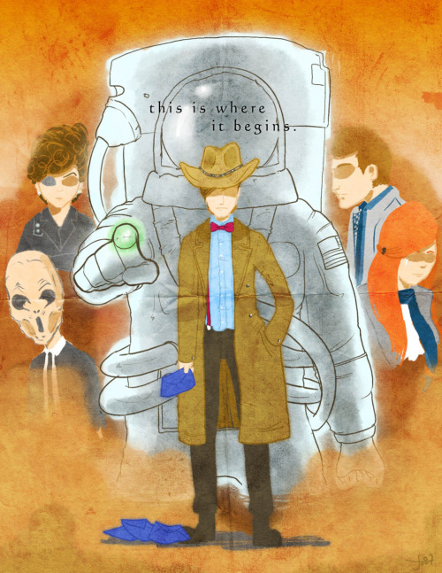Spoilers~  tick-tock goes the clockand all the year they flytick-tock and all too soonyour love will surely dietick-tock goes the clockhe cradled and he rocked hertick-tock goes the clocktill river kills the doctorSilence will fall and the Question is asked…  Fanart of BBC's Doctor who. S6E12