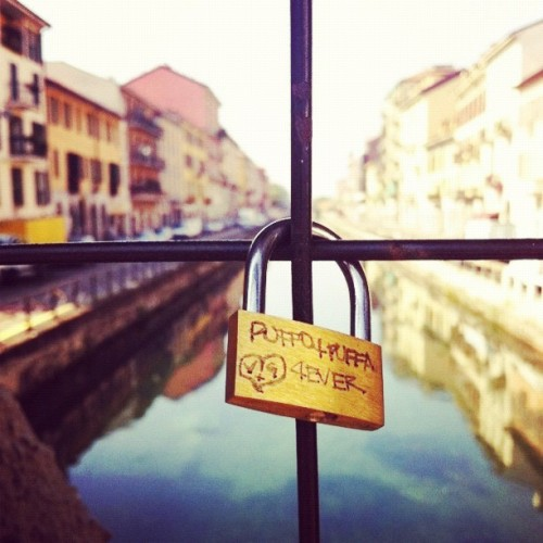 Locked Love #love #padlock #river #city #water #sky #buildings #daylight #streetphotography #photoparade #photostreet #instamood #ignition #instagram #instagood #populagram #gmy #igitalia #igers #onlyiphone #iphone4 #jj #jj_fam #james_favourites #ehw #teg #gr4pop6 (Taken with instagram)