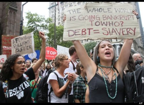 "Solidarity Time: The Young People Occupying Wall Street Are Standing Up for All of Us By Carl DavidsonKeep On Keepin' OnThe actions of thousands of young people in New York City's financial district, simply calling themselves ""Occupy Wall Street,"" is now entering a second week, with many camping out overnight in the area's parks. How long its will continue and whether its numbers will swell is anyone's guess, but the response of the NYPD in arresting and otherwise restricting them is already banging heads with our First Amendment rights to peacefully assemble.""At Manhattan's Union Square, police tried to corral the demonstrators using orange plastic netting,"" reports the Sept 25, 2011 Washington Post. ""Some of the arrests were filmed and activists posted the videos online. One video appears to show officers using pepper spray on women who already were cordoned off; another shows officers handcuffing a man after pulling him up off the ground, blood trickling down his face.""Most of the youth are students, but many are also unemployed and underemployed young workers. And a small but important grouping of staffers and activists with NYC's trade unions have also made their way downtown to spend a few hours helping out.The students certainly have a just cause. While the denizens of Wall Street have bailed themselves out and paid themselves huge bonuses with trillions from the public treasury, these young people are saddled with a degree of crushing debt to pay for their educations that would have been unthinkable 40 years ago. If they manage to graduate, they face a financial burden large enough for a home mortgage-all before they start their first full-time jobs, assuming their lucky enough to find one that pays a living wage.But these youth and students are fighting for more than their own immediate concerns. They have raised a whole range of demands-Medicare for All, defending social security, for passing the various jobs bills in congress, opposing racism and sexism, ending the wars, and abolition of the death penalty in the wake of the recent unjust execution of Troy Davis. They are the cutting edge of a new popular front against finance capital.Young rebels often manifest a moral clarity that awakens and prods the rest of us. Through their direct actions, they become a critical force, holding up a mirror for an entire society to take a look at itself, what it has come to, and what choices lay before it. The historic example is the four young African American students that sat at a lunch counter and ordered a cup of coffee in Greensboro, North Carolina back in 1960. The Wall Street protests are thus a clarion call to the trade unions and everyone concerned with economic and social justice. While the youth are clearly a critical force here, when all is said and done, they are not the main force. That power resides in labor and in the wider communities. It's in the hands of everyone that's part of an emerging progressive majority for peace and prosperity, everyone that wants a U-Turn against the country's current path to more wars and deeper austerity.It's time to exercise that power and lend a hand with active solidarity. More actions are in the works, including an occupation and encampment on Freedom Plaza in Washington, DC starting Oct. 6, following the 'Rebuild the Dream' DC conference focused on a renewed labor-community coalition for the 2012 election. It's going to take more than votes to push back the right wing and its Wall Street allies. It's going to take some serious 'street heat' as well."