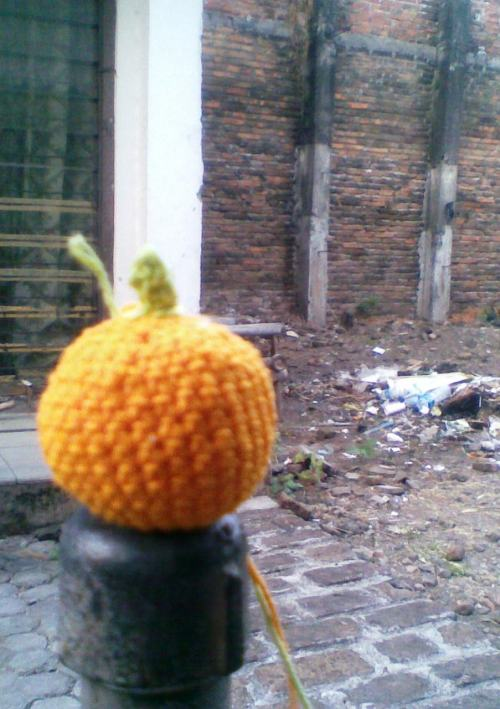 My Lovely ORANGE AMIGURUMI.. :3