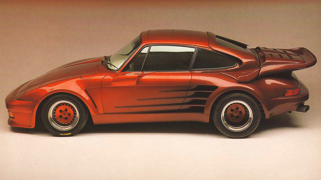 "porschelove:  Second generation Gemballa Avalanche. Based on Porsche 911 Turbo (Type 930) and powered by RUF-tuned 3.4 litre engine producing 375 hp, it's more than enough even by today's standards. Note that the side mirrors have been replaced by rear-view cameras making this one of the first cars to employ such technology. Information source 1000SEL. Photo via Gemballa GmbH.  GOOD EARTHhttp://ruoteitalia.tumblr.com/archiveRuote Latina        Ruote ItaliaIl portale ospita aziende, uomini e piloti e vuol essere un luogo di incontro tra quanti vivono le ""ruote"", qualunque esse siano, con passione, consci del valore che l'invenzione della ruota ha rappresentato per l'umanità tutta. Seguiteci con attenzione, non ve ne pentirete.http://www.ruotelatina.com        ruotelatina@gmail.comhttp://www.ferdinandporsche.nethttp://ruoteitalia-blog.tumblr.com/archivehttp://leosimonelli.tumblr.com/archivehttp://fabiodamiani.tumblr.com/archivehttp://italiaunoweb.tumblr.com/archivehttp://rossoferrari.tumblr.com/archivehttp://mitomotori.tumblr.com/archivehttp://motodays-2012.tumblr.com/archive"