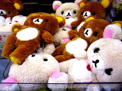 fuzzy rilakkuma by y o s h i on Flickr.
