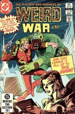 Weird War Tales  #123