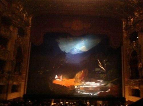 SNOBDAILY-GORGEOUS ARTWORK AT THE PARIS BALLET BY KAREN KILMINICK! XXR