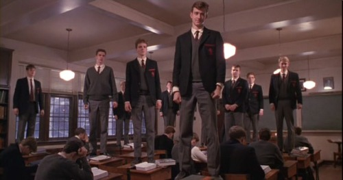 "Favourite Movies of all times; Dead Poets Society (1989)  └ "" I SOUND MY BARBARIC YAWP OVER THE ROOFTOPS OF THE WORLD"""
