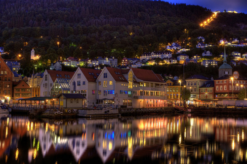 travelthisworld:  Bergen, Norway