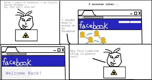 Saying Goodbye to Facebook