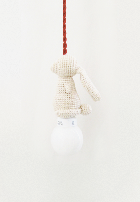 idreamcreateandadmire:  Heavy Rabbit Series, by Epha3Heavy Rabbit is handmade knit design products individually made by a designer.