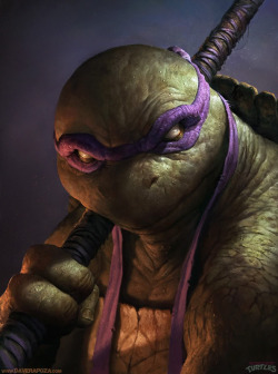 Donatello by Dave Rapoza