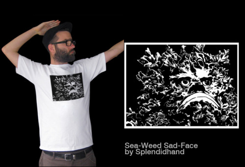 Sea-Weed Sad-Face by Splendidhand- only 15 quid!!!