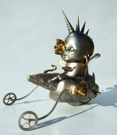 doctormonocle:  how is steampunk babby formed
